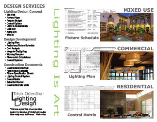 Trish Odenthal Lighting Design Brochure