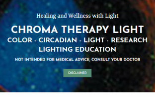 www.ChromaTherapyLight.com lighting education website by Trish Odenthal - Color + Circadian + Dark Sky + LED + Research