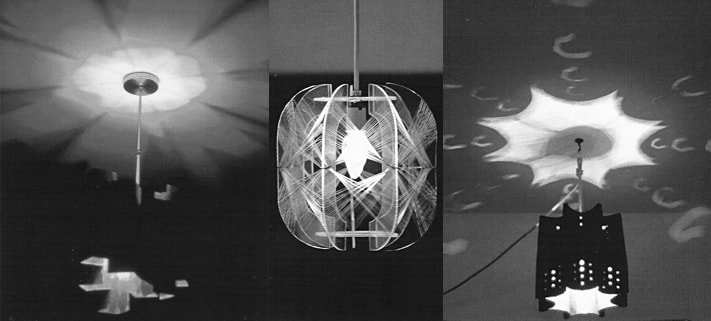 Lighting fixture designs by Trish Odenthal