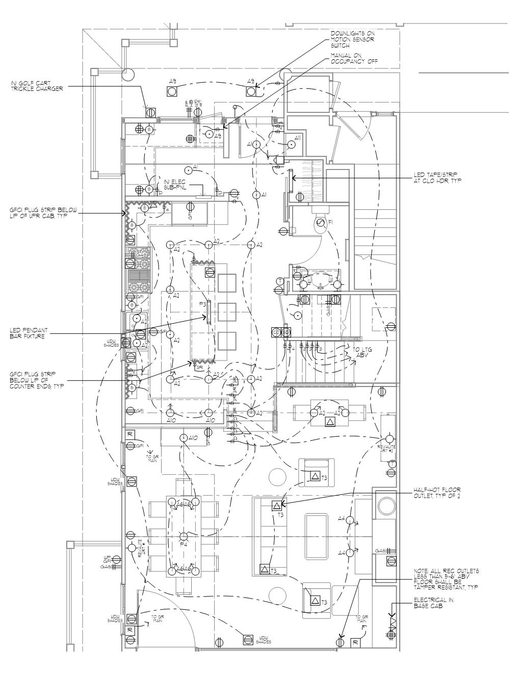 Trish Odenthal Lighting Design - Lighting Plan
